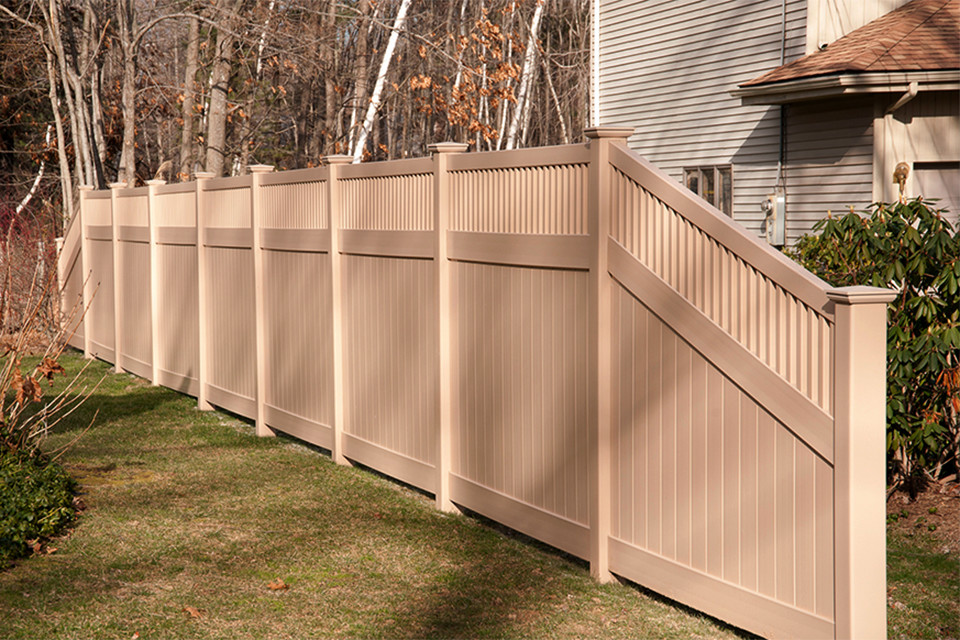 adobe illusions pvc vinyl privacy fence panels