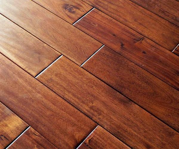 Turman Flooring: Walnut Hand Scraped Hardwood Flooring