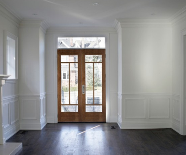 Woodgrain Doors: Radiata Pine 4 lite French doors