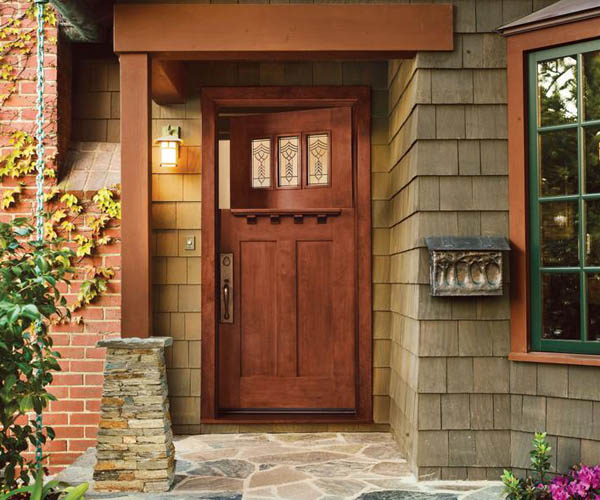 Jeld Wen: Exterior Craftsman Dutch Door