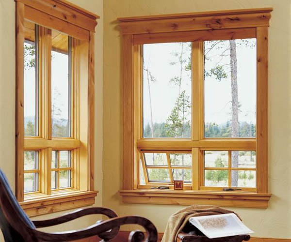 Jeld Wen: Pine AuraLast Wood Picture and Awning Windows
