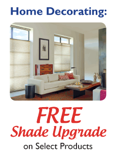 FREE Shade Upgrade on select products