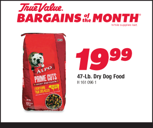 Alpo Prime Cuts 47-Lb. Dry Dog Food. $19.99