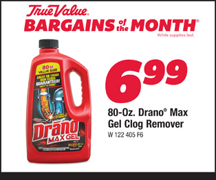 Drano® 80 Oz. Max Gel Clog Remover $6.99
