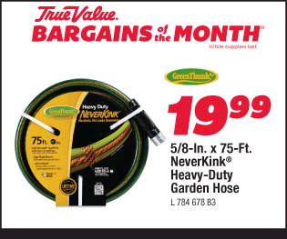 5/8-In. x 75-Ft. NeverKink® Heavy-Duty Garden Hose $19.99