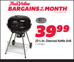 """22.5"""" Charcoal Kettle Grill $39.99"""