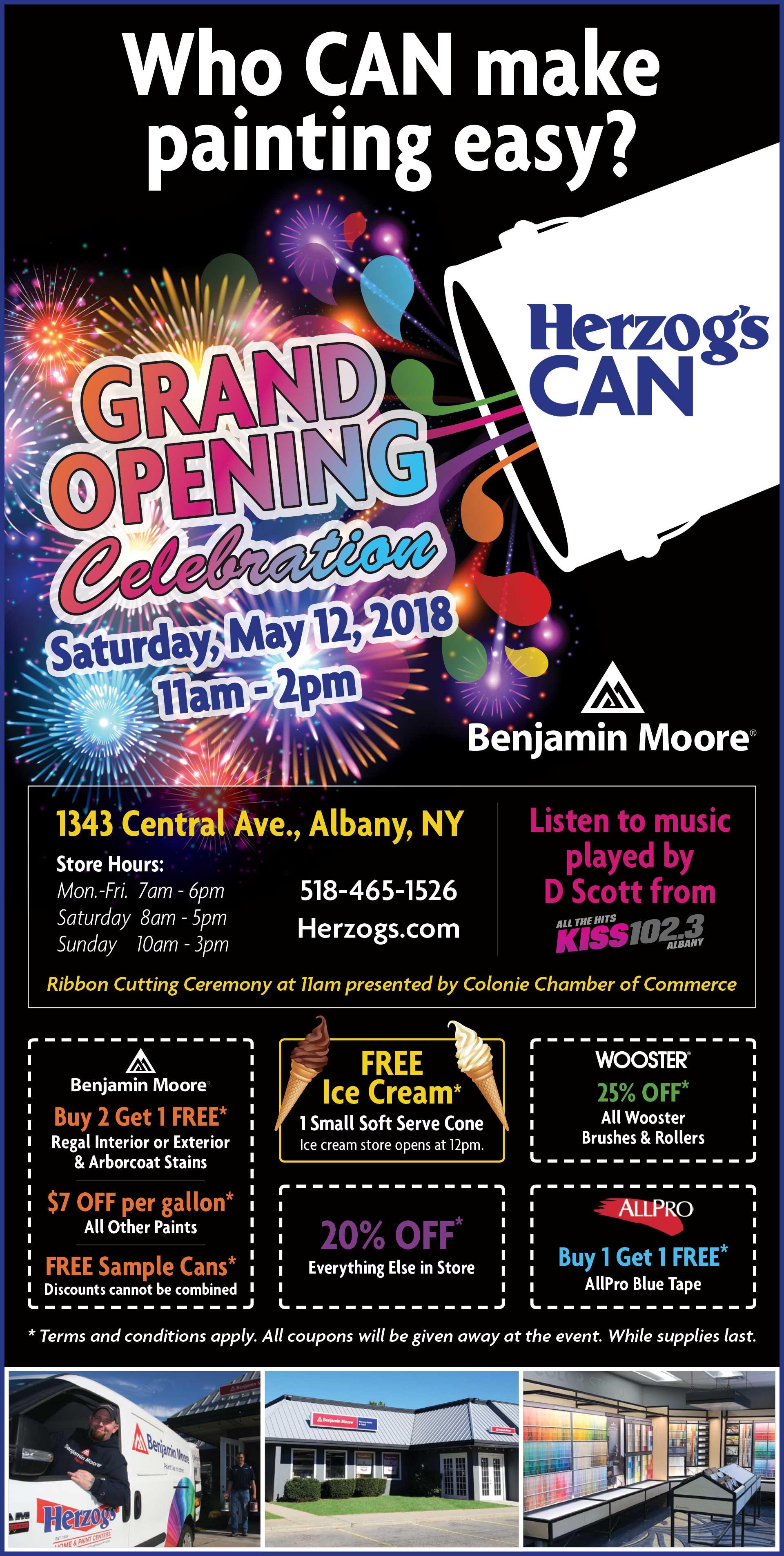 Albany Grand Opening Celebration Herzogs