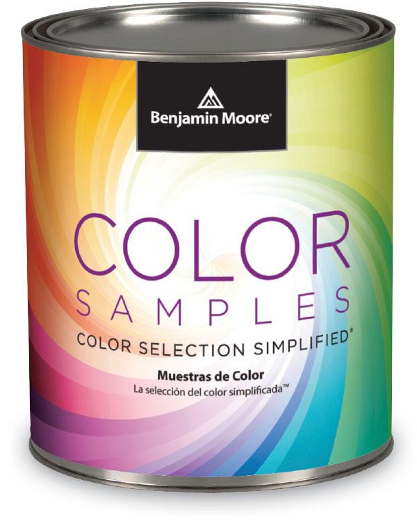 Benjamin Moore Color Sample Can
